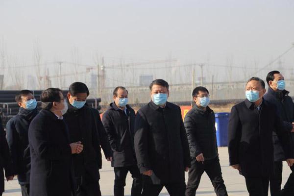 省委副书记、省长唐一军莅临辽宁北票一诺环境产业园参观指导
