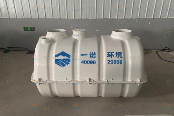 吉林乡村厕所改造玻璃钢化粪池案例