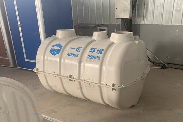 辽宁抚顺农村厕所改造模压玻璃钢化粪池案例