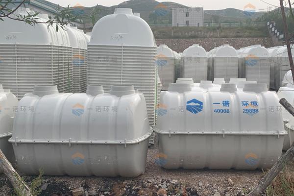 辽宁朝阳农村厕所改造SMC玻璃钢化粪池案例